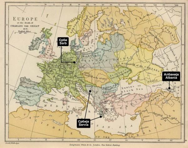 Karta Nemacke Berlin.Skrivena Istorija Srba Vreme Kada Je Berlin Bio Srpski Mapa